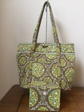 Vera Bradley Sittin' in a Tree extra large tote-rare retired + Matching Box