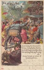 Ak München Chinesische Wirren Biergarten Chinesischer Turm Litho gel 1900