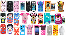 HOT New 3D Lovely&Cool Soft Silicon Case Cover For Various Apple iPod iphone-1