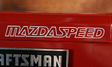 Mazdaspeed Outline Sticker Decal Mazda 3 6 Protege Miata