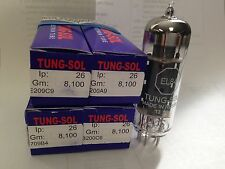 4 FACTORY MATCHED TUNG-SOL TUNGSOL EL84 EL-84 6BQ5 - For Vintage tube Amplifier