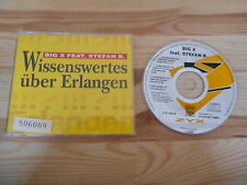 CD Pop Big X ft Stefan B - Wissenswertes über Erlangen (4 Song) MCD / ZYX MUSIC