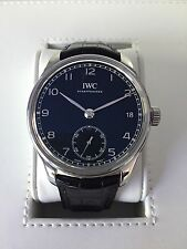IWC Portuguese Hand-Wound Eight Days IW510202 8 Day, Excellent++, Boxes & Papers