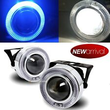 "For tC xB 3"" Blue Halo Projector Bumper Driving Fog Light Lamp Kit Set"