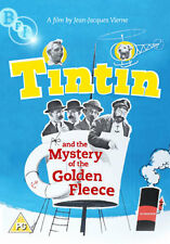 DVD:TINTIN AND THE MYSTERY OF THE GOLDEN FLEECE - NEW Region 2 UK