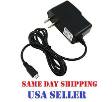 micro USB AC HOME WALL TRAVEL AC CHARGER for NEP WIRELESS SNAPFON ezTWO EZ 2