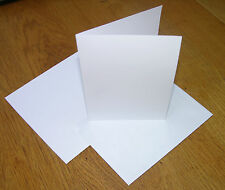 Pack of 20 versatile blank A5 fold A6 greeting cards and envelopes; craft/inkjet