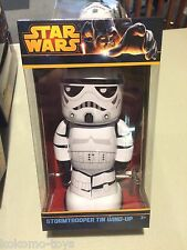 2014 Schylling Star Wars STORMTROOPER Collector Retro Windup Tin Toy Space MIB