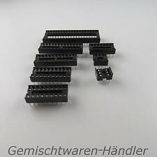 IC Socket Assorted Holder socket DIL DIP pin 6 8 14 16 18 20 24 28 40 RM 2,54