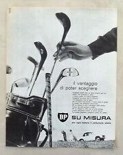 E300-Advertising Pubblicità-1963 - BP CARBURANTI SU MISURA