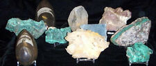 Dynamic Acrylic Display Stand  Relics Slabs Geodes Fossils Minerals Rocks 20 ct