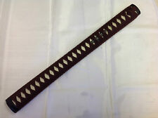 New brown Nodachi tsuka iaido Iaito katana Shinken Japanese sword cotton ito