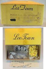Lee Town 1/87 H0 Metal Kit 7028 Ford C Firetruck Suburban Pumper OVP #2412