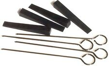 """Piano Rubber Mute with Wire Handle - 3"""" x 3/8"""" - Set of 4"""