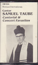 Samuel Taube - Cantorial & Concert Favorites (Cassette, CM-524) NEW Cantor