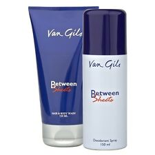 Van Gils Between Sheets Deodorant Spray 150ml + 150ml Hair & Body Wash For Men