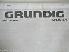 GRUNDIG YACHT BOY (MANUAL ONLY).............RADIO_TRADER_IRELAND.