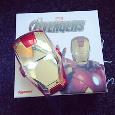 Fashion Iron Man Portable Power Bank Charger Battery 6000mAh For Cell Phone