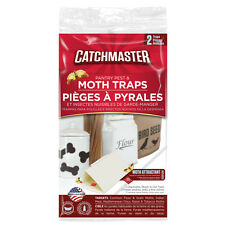 4 Catchmaster Pantry Pest Moth Traps Control Indian Meal, Tobacco,  Raisin