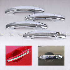 New Chrome Door Handle Cover Trim Molding Cup For Ford Escape Kuga 2013 2014
