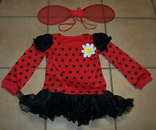 Leg Avenue Girl's Kids  'Lady Bug' Daisy Costume Halloween Party Size S