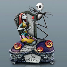 Tim Burton NIGHTMARE BEFORE CHRISTMAS Now and Forever MUSICAL Figurine NEW