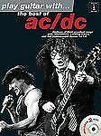 AC/DC play guitar with the best of AC/DC guitar tab book and CD