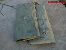 **US Military Army/USMC Waterproof Wet Weather Laundry/Clothing Bags Lot of 2