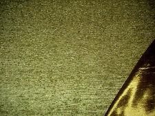 Polsterstoff Möbelstoff Stoff Barock Antik Neu Uni Chenille Webstoff Grün