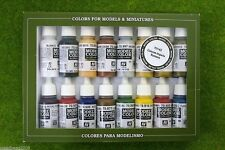 VALLEJO ROMAN EMPIRE COLOURS Model Colour 16 bottle set 70143