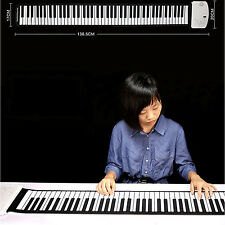 88 keys Multi-Function Roll Up Digital Soft Flexible Piano Electronic Keyboards