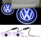 For VW LED Welcome Car Light Door 3D Logo Projector Ghost Laser Shadow Lamp 2pcs