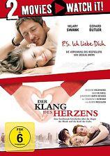 2 DVDs * 2 MOVIE - P.S. ICH LIEBE DICH / DER KLANG DES HERZENS  # NEU OVP §