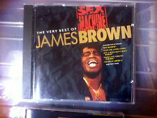 James Brown Sex Machine: The Very Best: inc LIVING IN AMERICA GET UP ETC.....