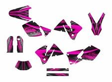 KTM EXC 125 250 450 525 graphics 2001 2002 custom sticker kit #3333 Hot Pink