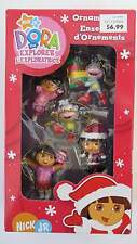 Nick JR Dora the Explorer 5 Piece Miniature Ornament