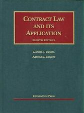 NEW - Contract Law and its Application (University Casebook Series)
