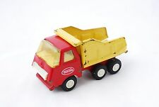 VINTAGE RED/YELLOW TOY TONKA DUMP TRUCK MOUND MINN 55010 PRESSED STEEL