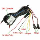 New Car DRL Daytime Running Light Dimmer Dim Relay Control Switch Harness 12V