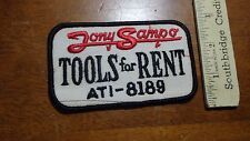 TOOLS FOR RENT JONY SAMPO E PATCH AUCTION     BX F 5