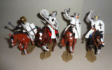 VARIANT Teutonic Knights  horseback ARGENTINA DSG Medieval Soldiers set Britains