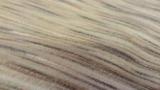 TEXTURED STREA STRIPE BROWN CREAM GREEN WOVEN  UPHOLSTERY FABRIC