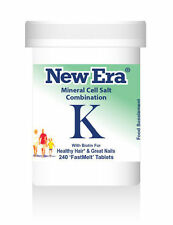 New Era Combination K (Tissue Salts) 240 Tablets Brittle Nails & Falling Hair