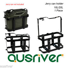 Foldable Plastic Coated Jerry Can Holder 2.5mm Steel 10L/20L for 4WD/Motorbike