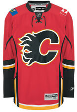 Calgary Flames YOUTH Reebok Premier Home Red  Jersey L/XL Large XL