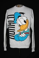 VTG Mickey & Co Disney Donald Duck Heather Gray Crewneck Sweatshirt Sz XL NICE