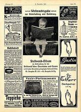 Chocoladen Stollwerck Album Ph. Siegfried Celle i. H. Baumkuchen- Fabrik...1901