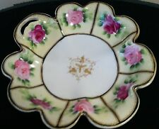 Nippon Hand Painted Bowl With Roses