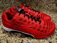 **REEBOK CROSSFIT** MAN GENTS SHOES SIZE 43/10  RED SNEAKERS EUC