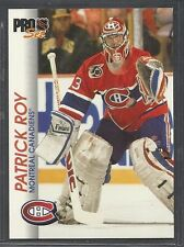 1992-93 Pro Set Hockey - #85 - Patrick Roy - Montreal Canadiens